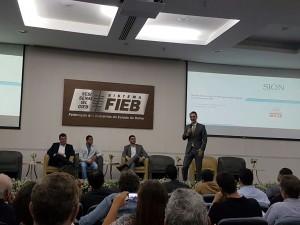 Alexandre Sion ministra palestra no I Encontro Baiano de Energia Solar