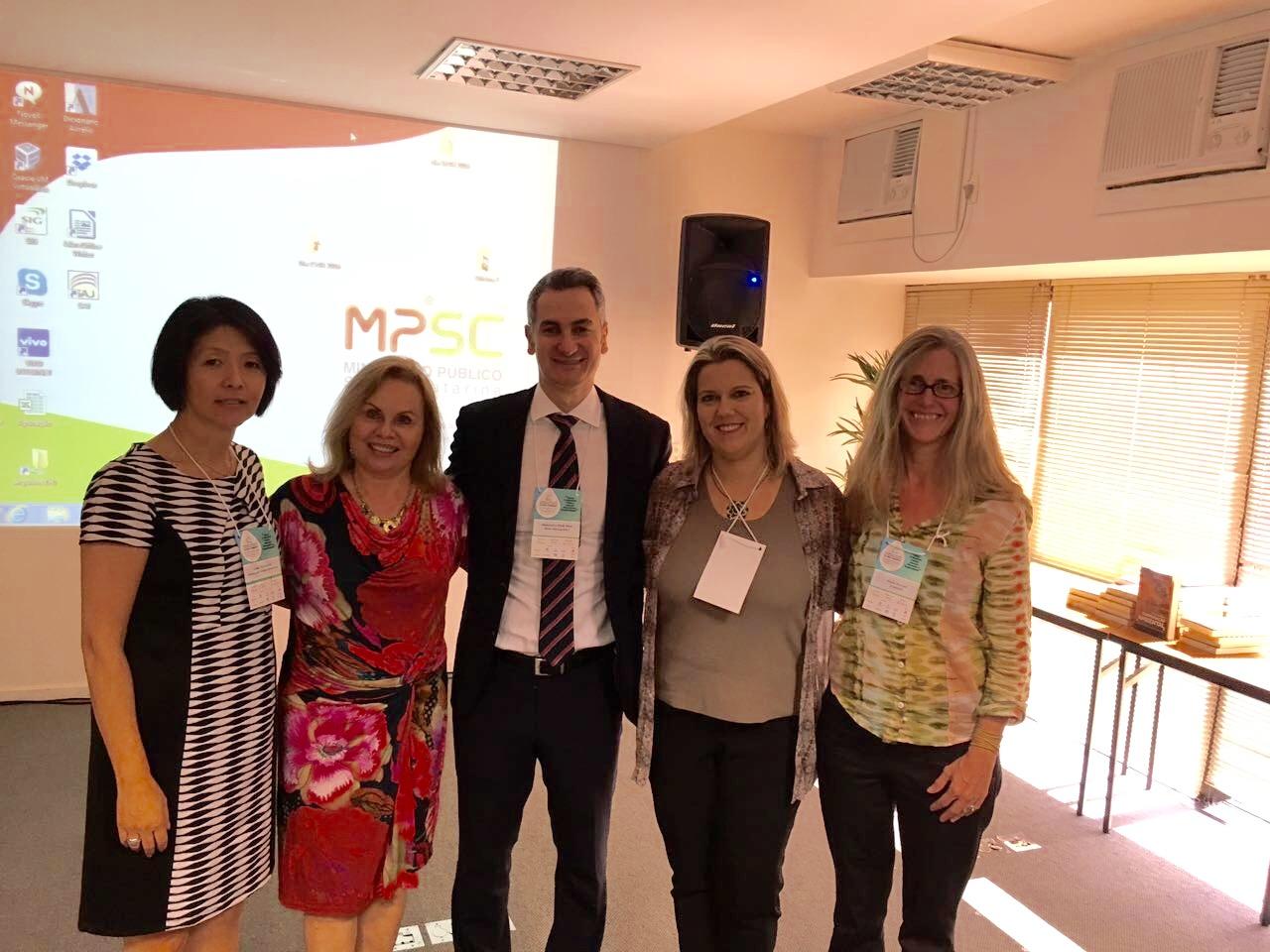 Nota de agradecimento – palestra proferida no XVI Congresso Brasileiro do Ministério Público de Meio Ambiente