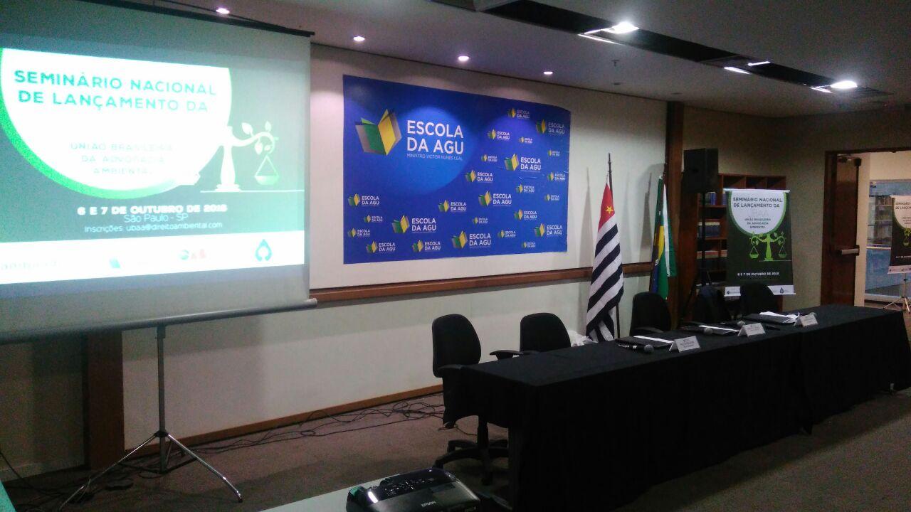 Launching Seminar of UBAA – Brazilian Union for Environmental Advocacy