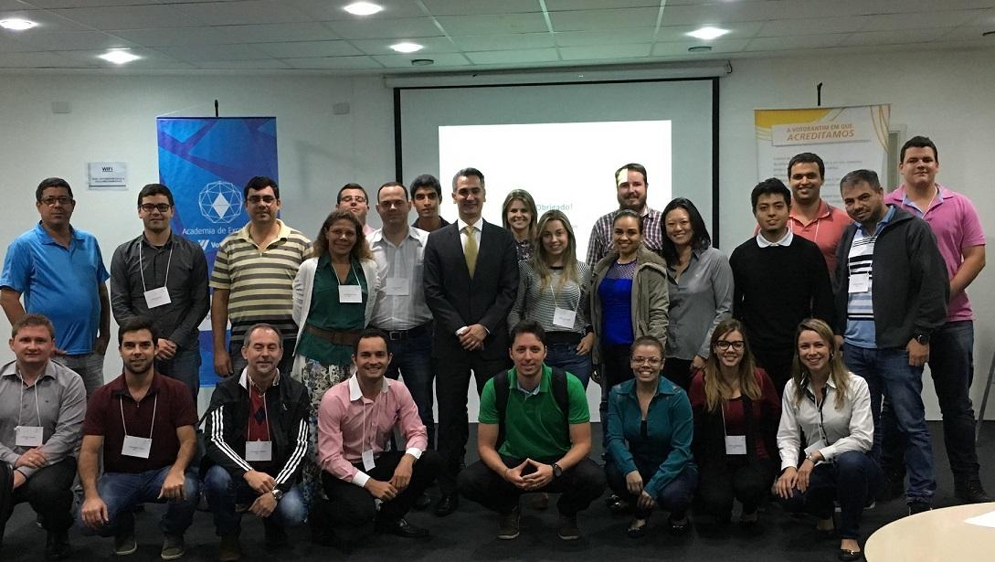 Alexandre Sion gives inhouse training to Grupo Votorantim